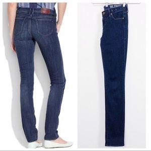 Madewell • Rail Straight Jeans in Deep Indigo